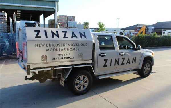 Zinzan Full vehicle wrap